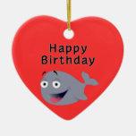 Ballena de una época - feliz cumpleaños ornamentos para reyes magos