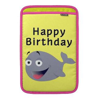 Ballena de una época - feliz cumpleaños funda para macbook air