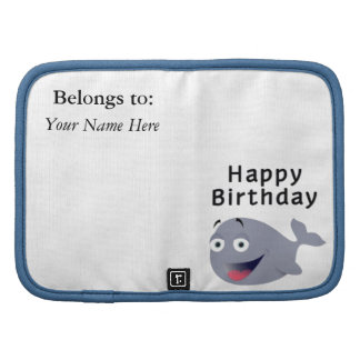 Ballena de una época - feliz cumpleaños planificador