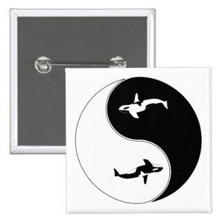 Ballena de Yin Yang Pin