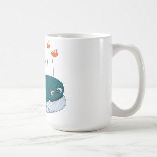 Ballena del fall taza