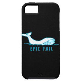 Ballena épica del fall funda para iPhone 5 tough