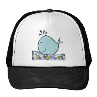 Ballena feliz grande gorras de camionero
