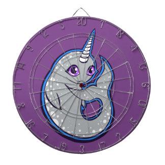 Ballena gris de Narwhal con diseño del dibujo de