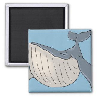 ballena imán cuadrado