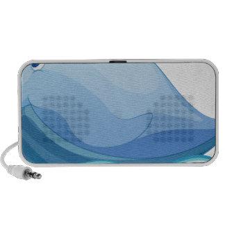 ballena iPod altavoces