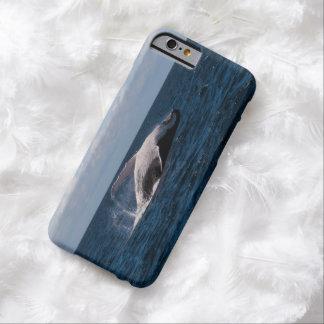 Ballena jorobada - caso del iPhone 6 de la platija Funda De iPhone 6 Barely There