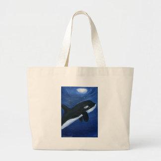 Ballena linda de la orca bolsas
