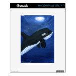 Ballena linda de la orca calcomanías para NOOK