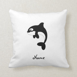 Ballena linda de la orca almohada