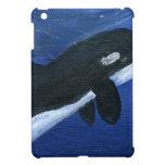 Ballena linda de la orca iPad mini funda
