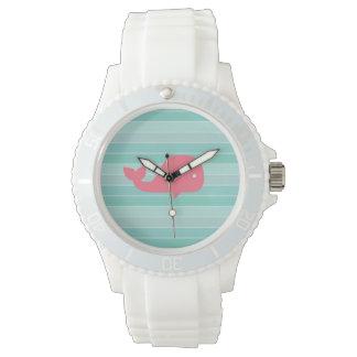 Ballena linda relojes de pulsera