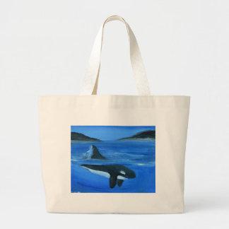 Ballena majestuosa de la orca bolsas