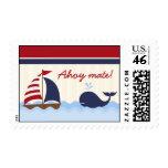 Ballena náutica de 20 sellos Ahoy