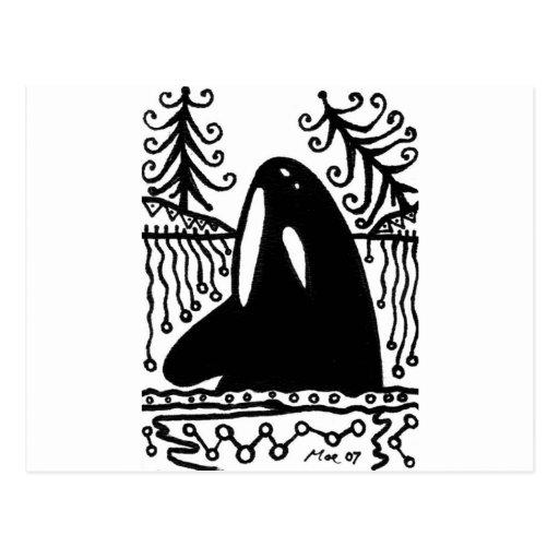 ballena postales