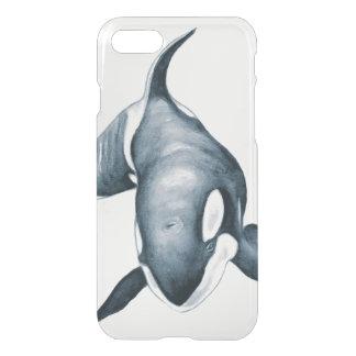 Ballena solitaria de la orca funda para iPhone 7