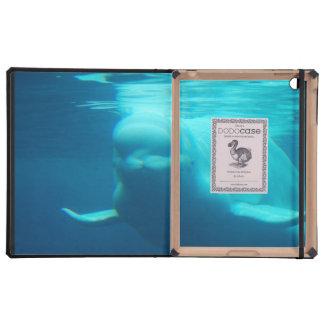 Ballena subacuática de la beluga iPad carcasa