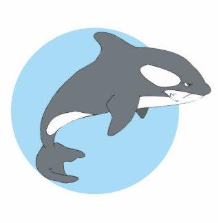 ballena triste de la orca esculturas fotograficas