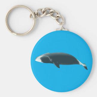 Ballena whale llavero redondo tipo pin