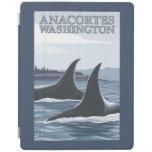 Ballenas #1 - Anacortes, Washington de la orca Cover De iPad