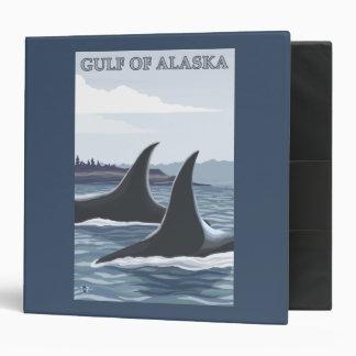 Ballenas #1 - el golfo de Alaska de la orca