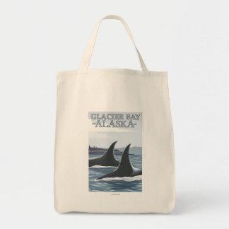 Ballenas #1 - Glacier Bay, Alaska de la orca