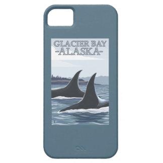 Ballenas #1 - Glacier Bay, Alaska de la orca Funda Para iPhone SE/5/5s