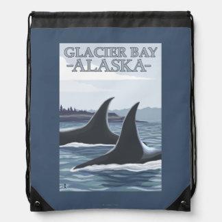 Ballenas #1 - Glacier Bay, Alaska de la orca Mochila