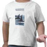 Ballenas #1 - isla de San Juan, Washington de la o Camisetas