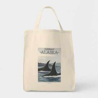 Ballenas #1 - Juneau, Alaska de la orca Bolsas De Mano