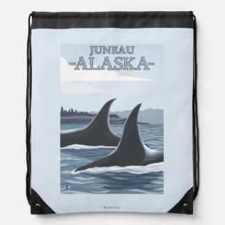 Ballenas #1 - Juneau, Alaska de la orca Mochilas