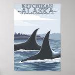 Ballenas #1 - Ketchikan, Alaska de la orca Impresiones