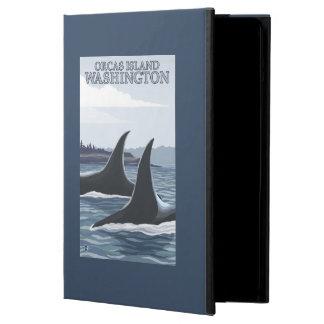 Ballenas #1 - orcas isla, Washington de la orca