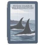 Ballenas #1 - puerto de viernes, Washington de la Cover De iPad Air