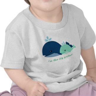 Ballenas caprichosas personalizadas camisetas