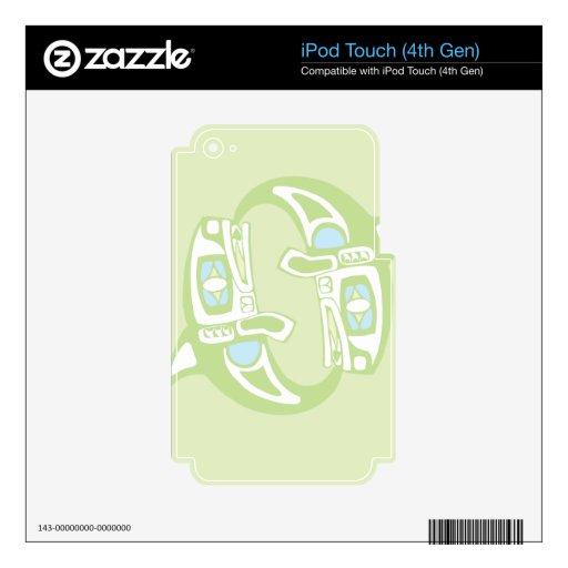 Ballenas de giro iPod touch 4G skin