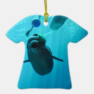 Ballenas de la beluga ornamento para reyes magos