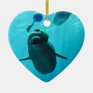 Ballenas de la beluga ornamentos de reyes magos