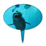 Ballenas de la beluga figura para tarta