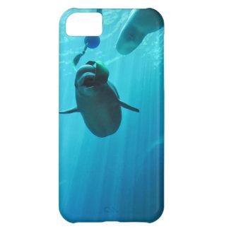 Ballenas de la beluga funda para iPhone 5C
