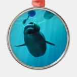 Ballenas de la beluga ornamentos para reyes magos