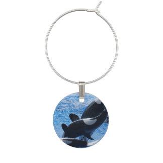 Ballenas de la orca identificador de copa