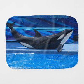 Ballenas de la orca paños para bebé