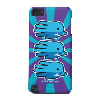 Ballenas de Narwhal del bebé azul que nadan Funda Para iPod Touch 5G