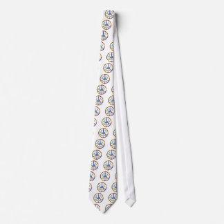 Ballenas del amor de la paz corbatas personalizadas