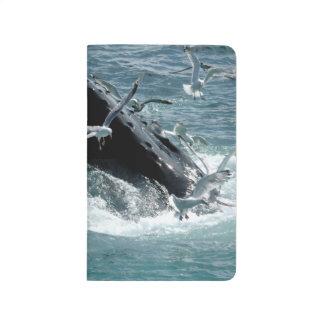 Ballenas jorobadas cuaderno