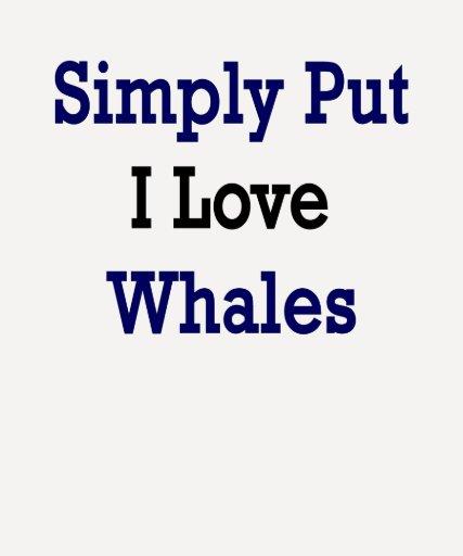 Ballenas simplemente puestas del amor de I Poleras