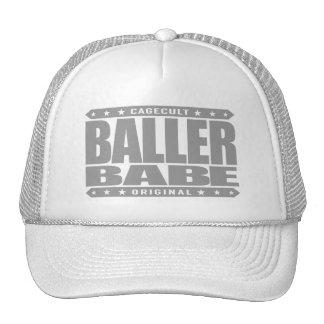 BALLER BABE - Support Female Gangster Empowerment Trucker Hat