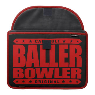 BALLER BOWLER - Always Aim 4 Perfect Gangster Game Sleeves For MacBook Pro