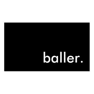 baller business card templates